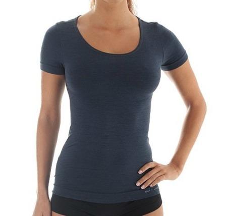 Koszulka damska Brubeck Comfort Wool SS11020