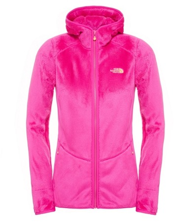 Polar damski The North Face Mossbud Full Zip Hoodie