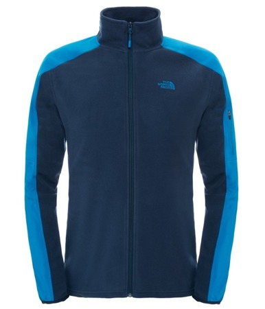 Polar męski The North Face Glacier Delta Full Zip